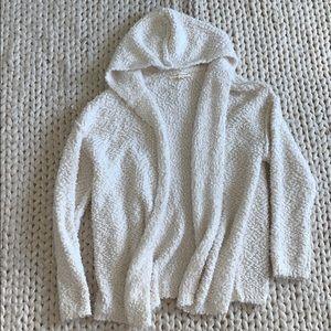 SOFT Hooded Wrap Cardigan